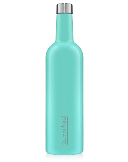 Winesulator 25oz Wine Canten - Aqua Blue