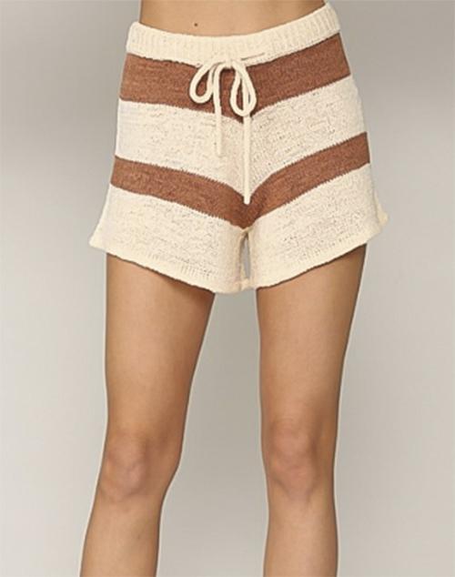 Sandy Striped Short