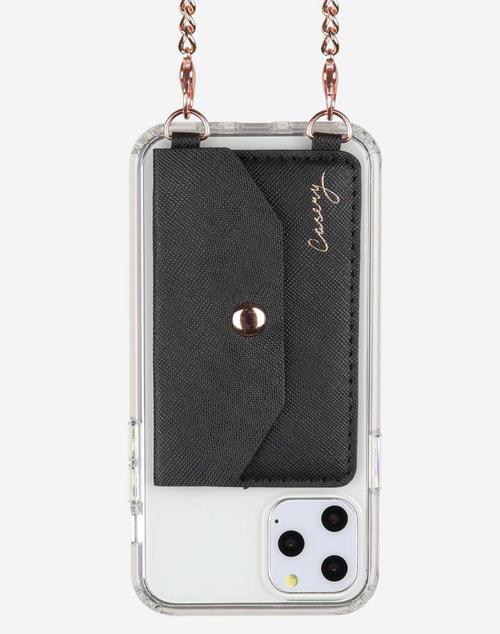 Crossbody Phone Pocket - Black
