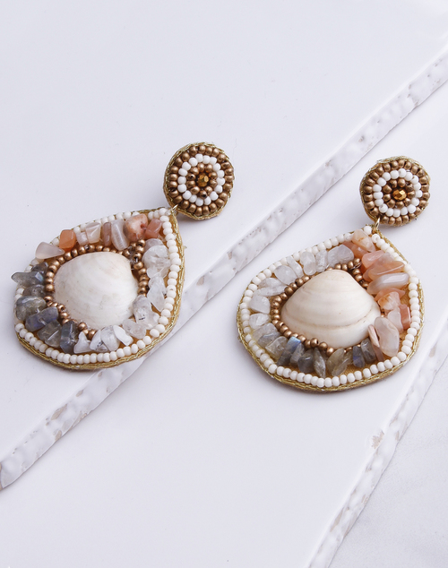 Shelly & Stone Earring