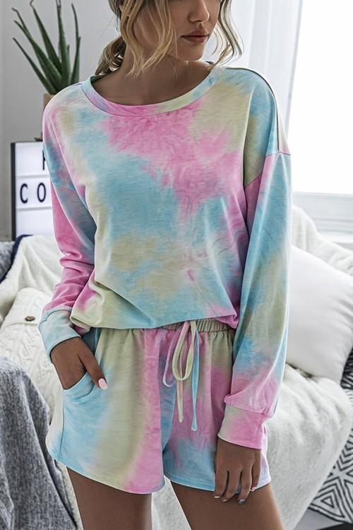 The Relaxed Tie Dye Set