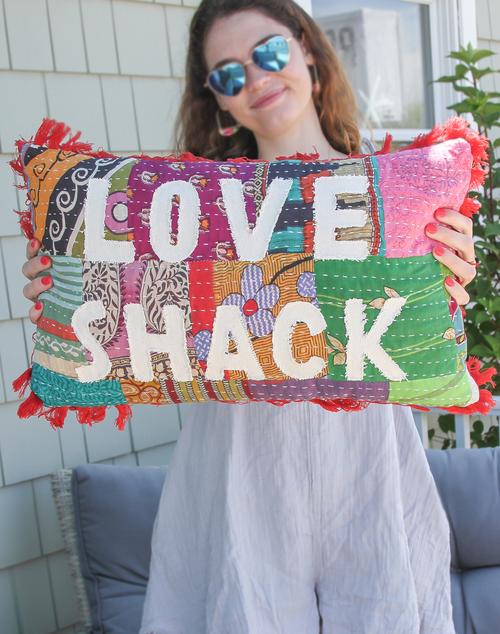 Love Shack Pillow