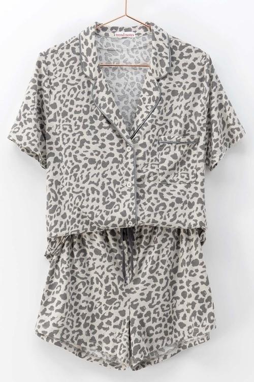 Animal Short Pajama Set