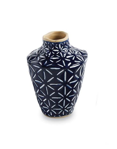 Medium Blue Bud Vase