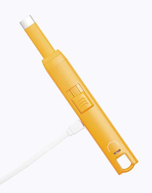 USB Candle Lighter - Matte High Orange