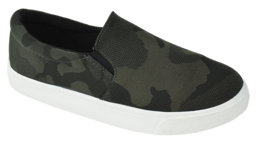 Ridge Textured Camo Sneaker