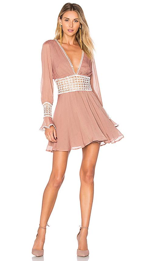 For love and Lemons Celine mini dress
