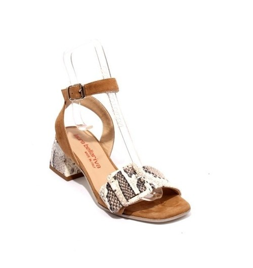 Multicolor Suede Leather Ankle Strap Sandals