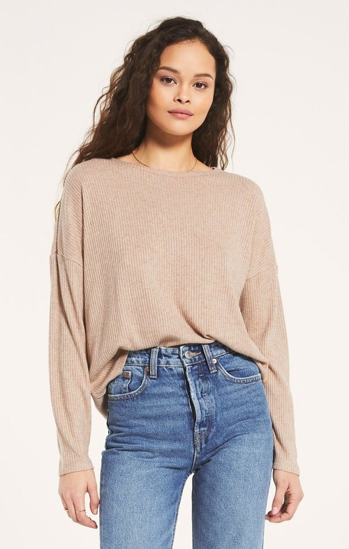 Robbie Rib Long Sleeve Shirt