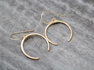 Caporal Earring Gold Fill