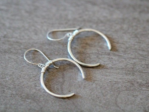 Caporal Earring Sterling Silver