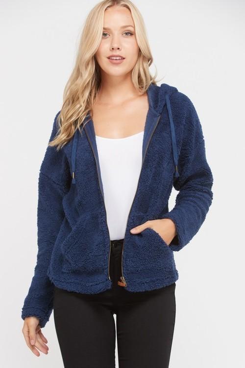 Wubby Hooded Zip Jacket