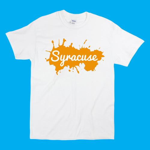 PURE Syracuse Splatter Tee