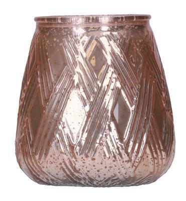 Rose Gold Speckled Mercury Sweet Grace Candle