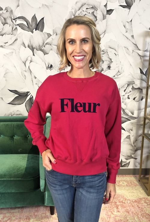 Fleur Graphic Sweatshirt