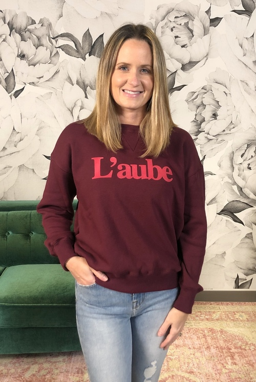 L'aube Graphic Sweatshirt