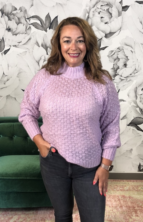 Norhen Lilac Sweater