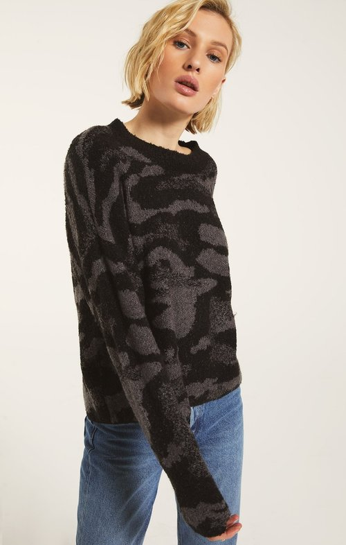 Bodrum Camo Sweater