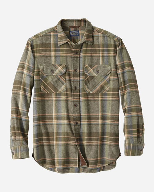 Pendleton Burnside Flannel Green/Brn