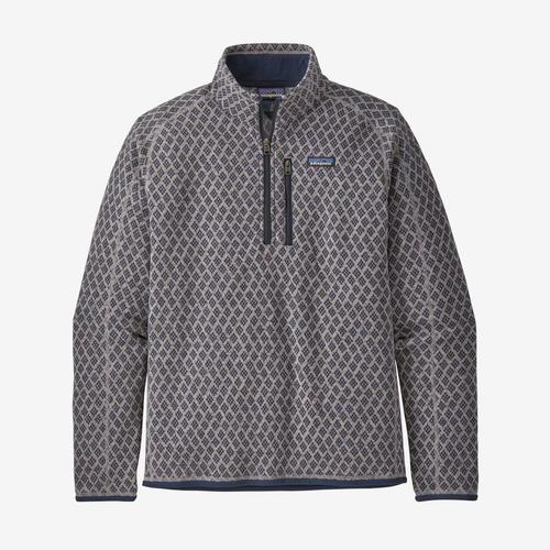 Patagonia M's Better Sweater 1/4 Zip Imprint: Stonewash