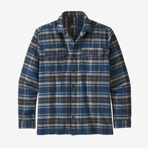 Patagonia M's L/S Fjord Flannel Shirt Independence New Navy