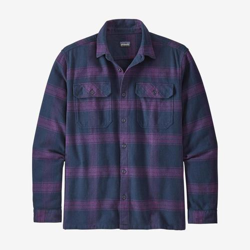 Patagonia M's L/S Fjord Flannel Burowood Purple