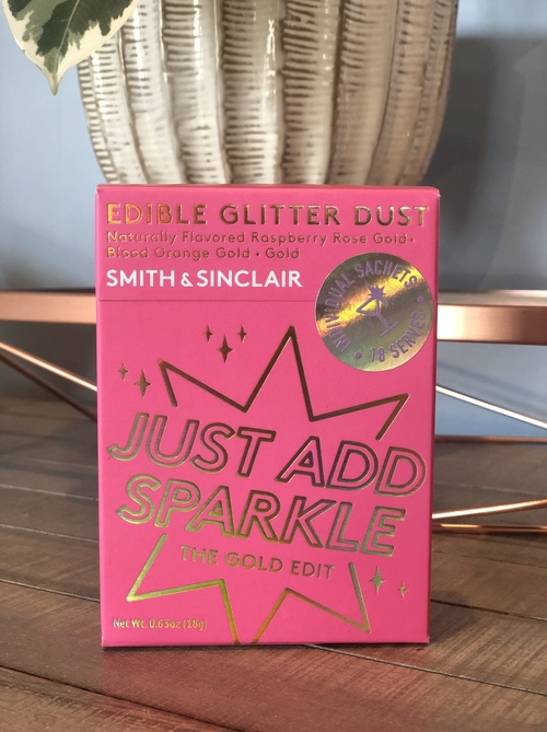 Just Add Sparkle Glitter Dust Gold