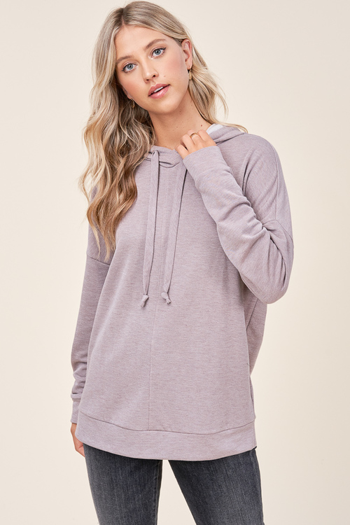Long Sleeved Brushed Pullover