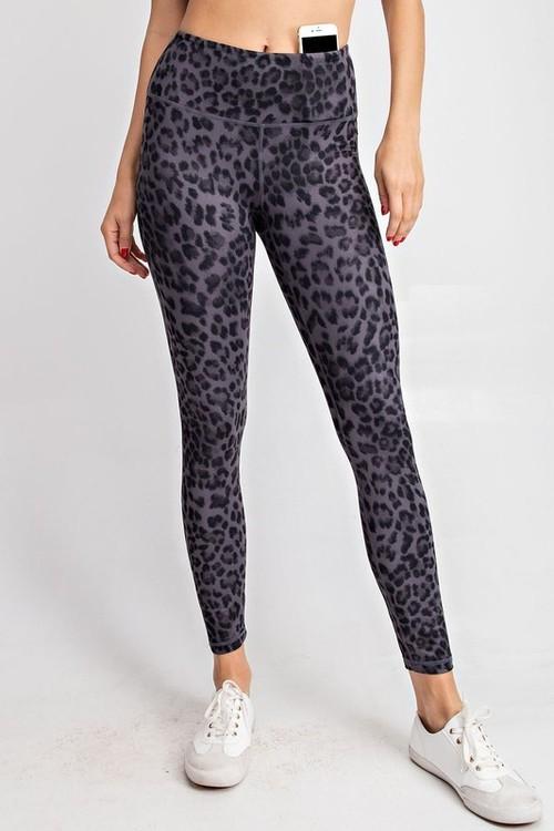 Animal Print Yoga Pant