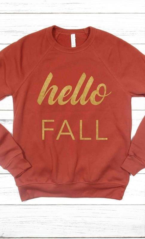 Hello Fall Sweatshirt
