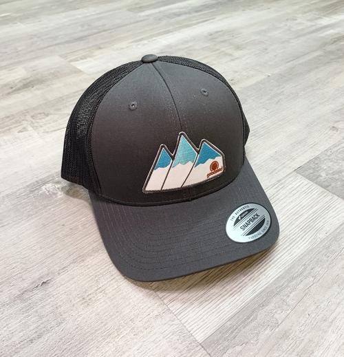 Tri Peaks Charcoal Trucker Hat