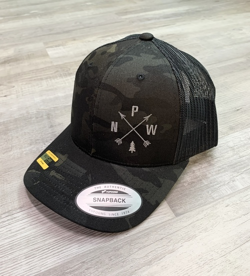 PNW Arrows Camo Trucker Hat