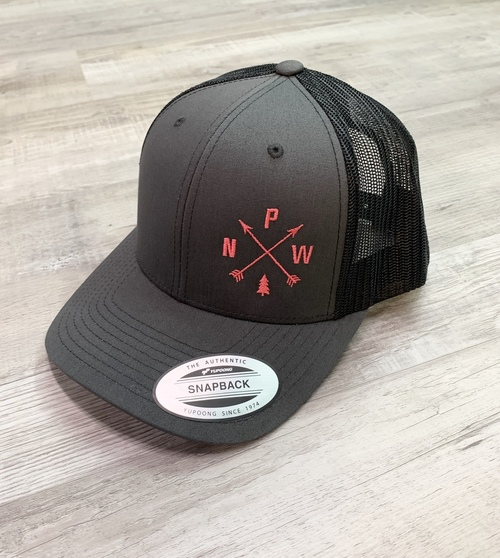 PNW Arrows Pink Print Trucker Hat