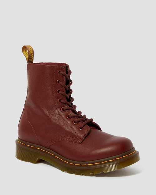 Dr. Martens 1460 Pascal Cherry Red