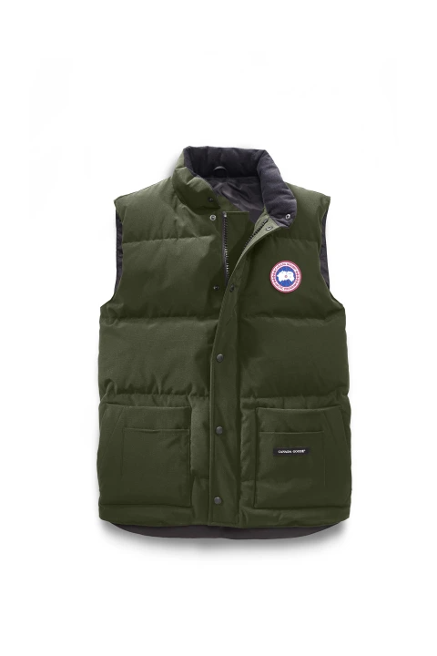 Canada Goose M Freestyle Crew Vest Military Green