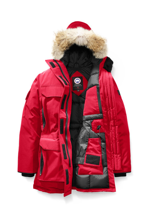 Canada Goose W Expedition Parka Red