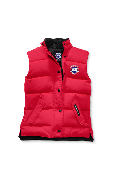 Canada Goose W Freestyle Vest Red