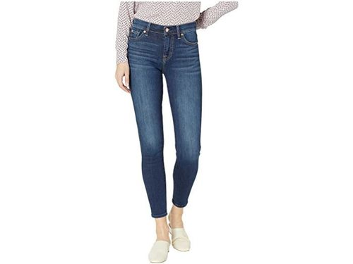 High Waist New Luxe Duchess Ankle Skinny