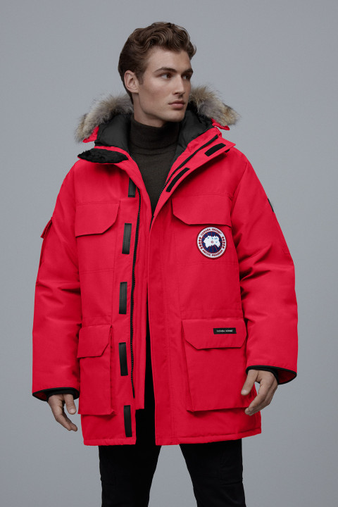 Canada Goose M Expedition Parka Red