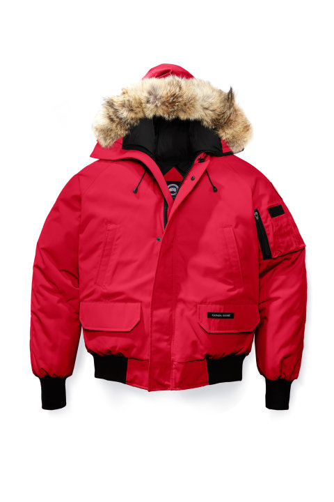 Canada Goose M Chilliwack Bomber Red