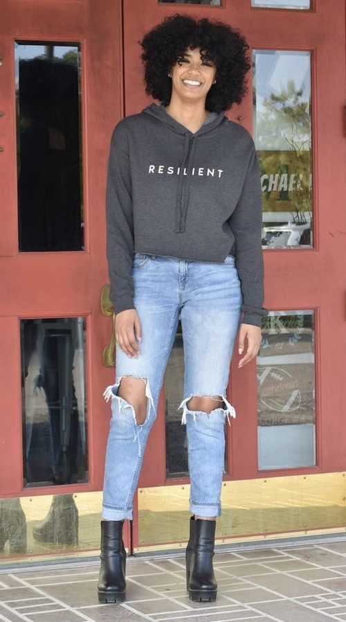 Resilient Cropped Sweatshirt