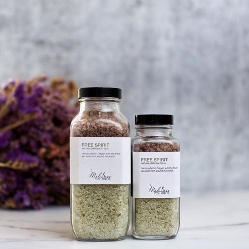 Free Spirit 8 oz Bath Salt