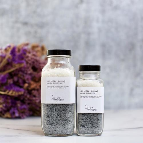 Silver Lining 8 oz Bath Salt