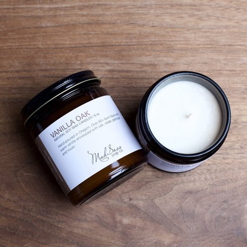 Vanilla Oak 9 oz Candle