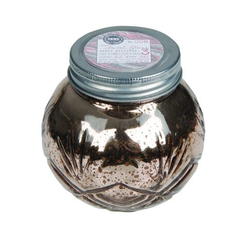Small Silver Jar Candle