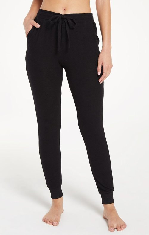 The Marled Jogger Black