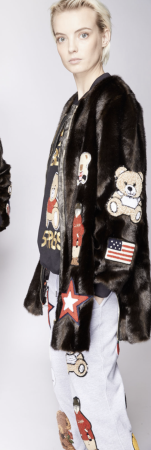 Eco Fur Mini Coat