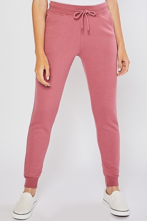 Oversized Relaxed Jogger Pant Begonia Pink