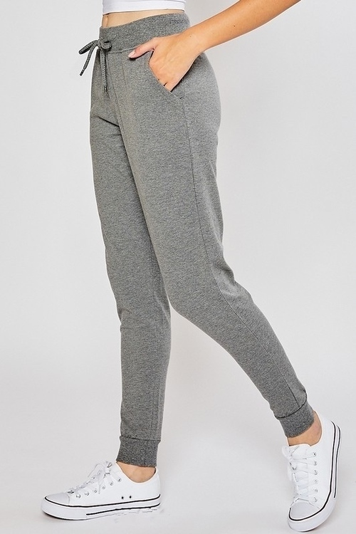 Oversized Relaxed Jogger Pant Heather Grey