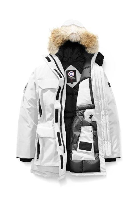 Canada Goose W Expedition Parka Northstar White